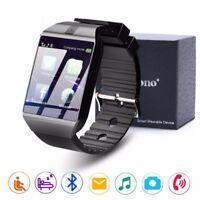 Smartwatch Bluetooth Waterproof Relojes Tf Sim Camera Ios Iphone Xiaomi Android