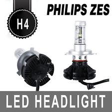 Pair Philips H4 12000LM 100W LED Car Headlight Kit Hi/Lo Beam Bulbs Auto Switch