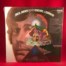 JACK JONES Jack Jones Sings Michel Legrand 1971 USA vinyl LP BRAND NEW SEALED
