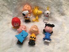 Peanuts -McDonald's Lot Of 7 Figures