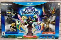 Skylanders Imaginators: Starter Pack (Nintendo Wii U, 2016) New