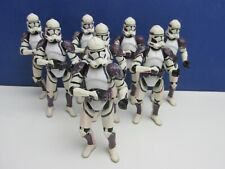 8 star wars CUSTOM PAINT 187th ATTACK BATTALION CLONE TROOPER ACTION FIGURE #634
