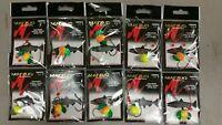 Matzuo Salmon, Steelhead Spin Rig Size 3, 10 PACKS  Needle Point Hooks