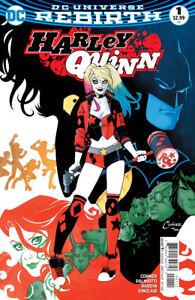 Harley Quinn (2016) #1 DC Universe Rebirth NM- (Lot of 3 books)