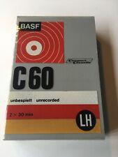 BASF C 60 Compact Cassette LH 2 X 30 Min