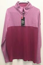 Under Armour UA Golf Outerwear Pullover Half Zip Wine Colored Loose Longsleeve L