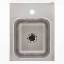 Edelstahl Ausguss Becken Waschbecken wandhängend CNS Handwaschbecken Spülbecken