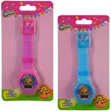 Shopkins Cookie 2 pc Digital LCD Wrist Watch For Girls Kids Birthday