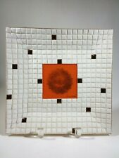 Georges Briard Ceramic Tile Plate mid-century vintage