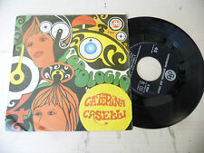"CATERINA CASELLI"" L'OROLOGIO-disco 45 giri CGD It 1968""BEAT Italy"