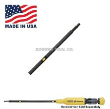 "Megapro ShaftLok Screwdriver Extension 6"" Shaft Lock Lok Slim Profile USA Made"