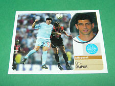 CYRIL CHAPUIS OLYMPIQUE MARSEILLE OM PANINI FOOT 2003 FOOTBALL 2002-2003
