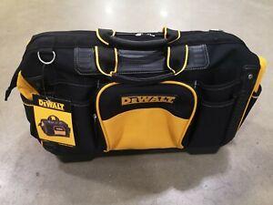 DeWALT Tool Bag Rigid Bag 18'' Hand And Power Tools Storage Incl Shoulder Strap