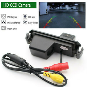 HD CCD Auto Reversing Backup Rear View Tracks Parking Camera For Hyundai I20 I30
