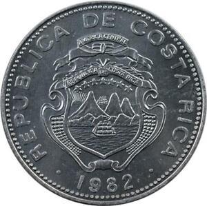 COSTA RICA - 25 CENTIMOS - 1982 - UNC