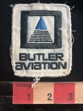 Vintage BUTLER AVIATION Airplane Related Patch 89H5