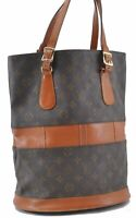 Auth Louis Vuitton Monogram Bucket GM Shoulder Bag USA Model T42236 LV B8123
