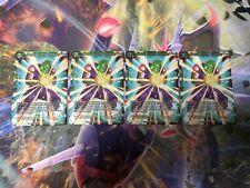 DRAGON BALL SUPER CARD-Power Booster Celeb - Picollo Cunning Strategist FOILX4