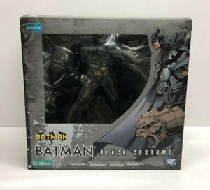 BATMAN Black Costume ARTFX Kotobukiya DC Comics 1/6 PVC Statue