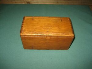 Vintage 1889 Singer Treadle Sewing Machine Wooden Puzzle Box and Attachments