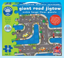 Giant Road Jigsaw Puzzle Game - Orchard Toys Educational Games Early Learning
