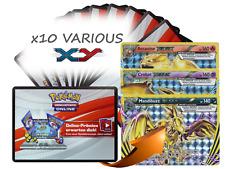x10 Various XY Pokemon TCGO OnLine Code + 1 Bonus Arcanine BREAK XY180 Code