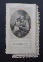 CANIVET LETAILLE PL 218 Saint Joseph image Pieuse HOLY CARD 19thC Santino 1