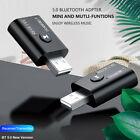 Bluetooth 5.0 USB Audio Transmitter Receiver Adapter 3.5mm for TV PC Car AU O❤