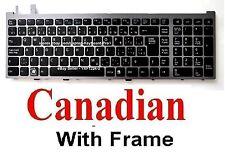 SONY VGN-AW170C VGN-AW190C VGN-AW290C VGN-AW390C Keyboard Clavier - Canadian CA