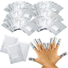 100pcs Pack Nail Art Soak Off Remover Gel Polish Acrylic Removal Foil Wraps Pads