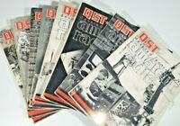 Vintage Lot Of 8 Qst Amateur Radio Magazines Ham Radio 8 issues 1961