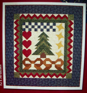 Thimbleberries Glad Tidings Christmas wall quilt pattern