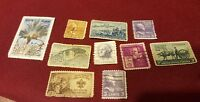 Postage stamps lot 10 pcs  pre-owned