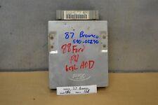 1987 1989 Ford Bronco 4.9L Engine Control Unit ECU E8TF12A650B52A Module 34 11B6