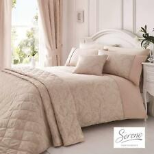 Serene Laurent Damask Jacquard Duvet Cover Bedroom Range Rose Pink