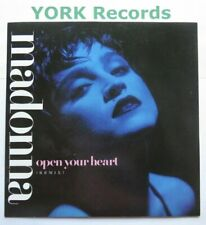 """MADONNA - Open Your Heart - Excellent Condition 7"""" Single Sire W 8480"""