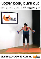 Barre Style Toning EXERCISE DVD - Barlates Body Blitz - UPPER BODY BURN OUT!