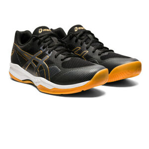 Asics Mens Gel-Court Hunter 2 Indoor Court Shoes Black Sports Squash Netball