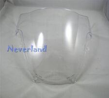 Windscreen Windshield Double Bubble for Suzuki GSXR 1000 K1 2001-2002 ABS Clear