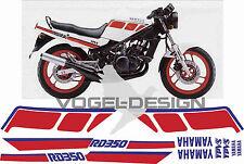 Dekor Decor Satz RD 350 Typ 1WW weiss / rot