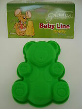 Silikomart Mini Jelly / Cake / Chocolate Mould - TEDDY. Silicone. Free 1st class