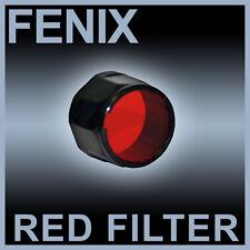 Fenix Red Torch Filter  For L1D L2D LD10 LD20 + More