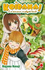 KOIBANA L'amour malgré tout tome 4 Nagamu Nanaji manga SHOJO