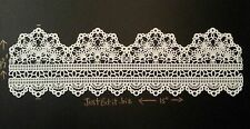 LARGE Edible Cake Lace Panel Wedding Christening Quinceanera Prom