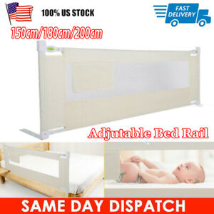 Foldable 55 x 45 x 4 cm Portable Hauck Sleep N Safe Plus Bed Rail for Children 108 x 50 x 44 cm Beige with Mesh