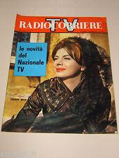 TV RADIOCORRIERE=1961/35=SANDRA MILO=TINO MANLIO=SALVE D'ESPOSITO=CARLA FRACCI=