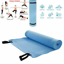 Yoga Mat Gym Fitness Exercise Eco Friendly Foam Non Slip Pilates Physio Mats UK