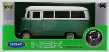 WELLY MERCEDES-BENZ L319 WHITE-GREEN 1:34 DIE CAST METAL NEW IN BOX