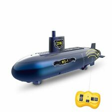 6 Channels Mini Rc Submarine Remote Control Under Water Boat Ship Kids Toys Gift
