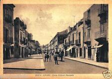si 01 1941 ISOLA DI LIPARI (Messina) Corso Vittorio Emanuele - viagg. Ed Costa